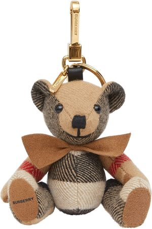 Burberry Thomas Bear keyring - NEUTRALS