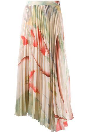 Etro Pleated maxi skirt - Neutrals