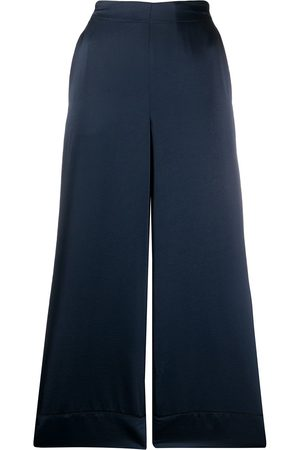 BLANCA Wide leg cropped trousers