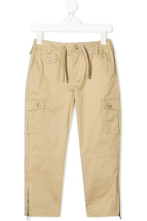 Dolce & Gabbana Zip detail cargo trousers - Neutrals