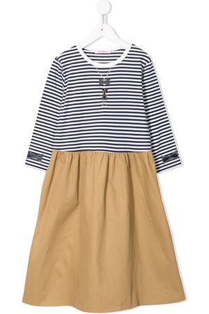 Familiar Striped top flared dress