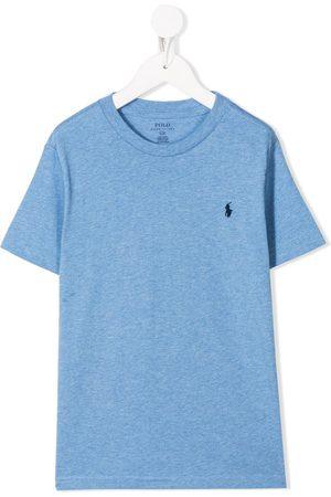 Ralph Lauren Logo embroidered round neck T-shirt