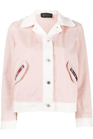Mr & Mrs Italy Patch pocket cropped jacket