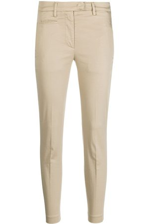 Dondup Slim fit trousers - Neutrals