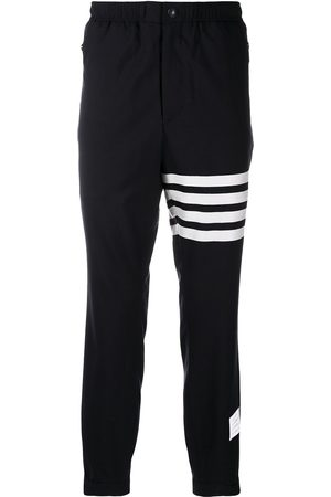 Thom Browne 4-Bar tapered track pants