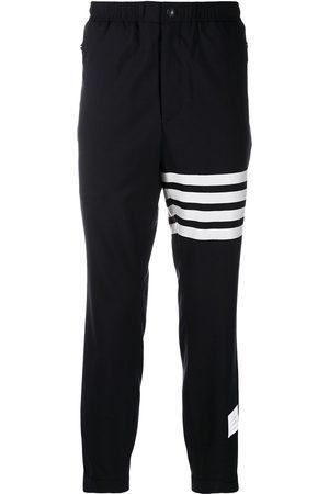 Thom Browne Men Sweatpants - Plain weave suiting track pants