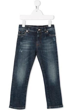 Dolce & Gabbana Slim faded jeans