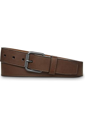 SHINOLA Men Belts - Men's Mack Leather Belt