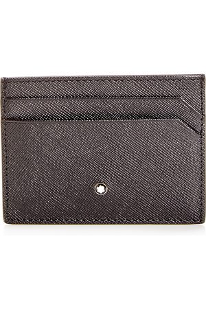 Mont Blanc Sartorial Embossed Leather Card Case