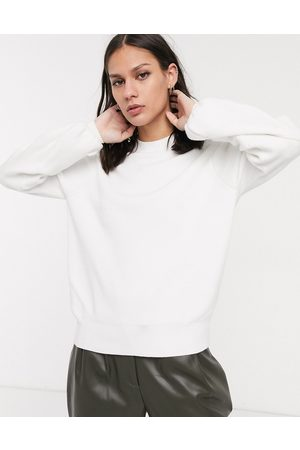 Selected Femme sweater with balloon sleeve in