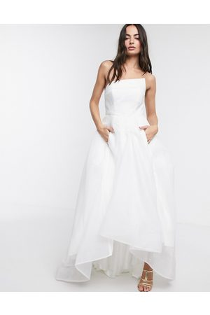 Bariano Women Maxi Dresses - Full maxi dress with organza bust detail in
