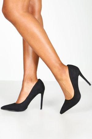 Boohoo Womens Basic Stiletto Heel Pumps - - 5