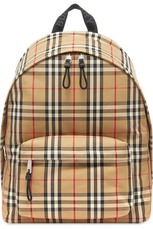 Burberry Jett Check Backpack