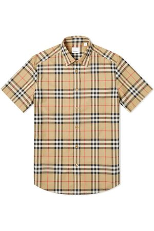 Burberry Short Sleeve Caxton Check Shirt