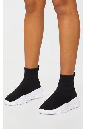 PRETTYLITTLETHING Sock Chunky Sneakers
