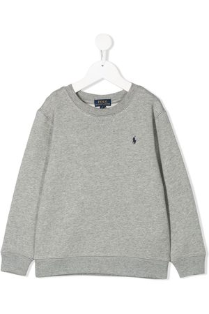 Ralph Lauren Logo embroidered sweatshirt - Grey