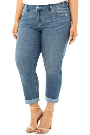 Liverpool Los Angeles Peyton Slim-Leg Boyfriend Jeans in Ocala