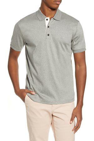 RAG&BONE Men's Interlock Slim Fit Heathered Polo Shirt