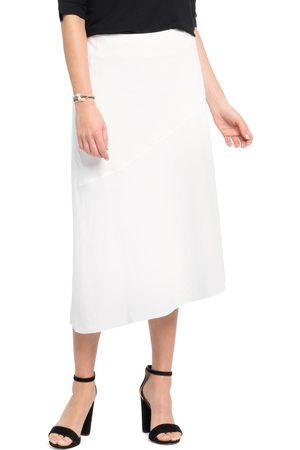 NIC+ZOE Women's In Season A-Line Linen Blend Skirt