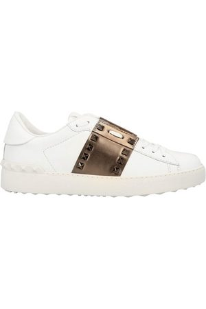 VALENTINO Women Running - Garavani leather trainers