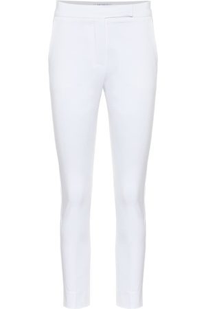Max Mara Luana high-rise slim cotton pants