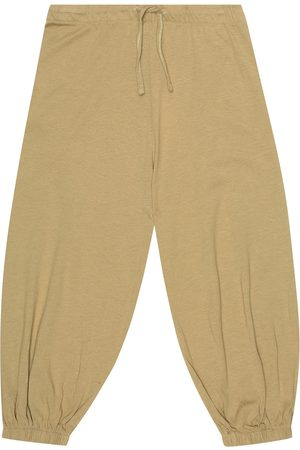 Caramel Southbank cotton-jersey trackpants