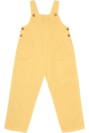 Caramel Hampstead cotton-denim overalls