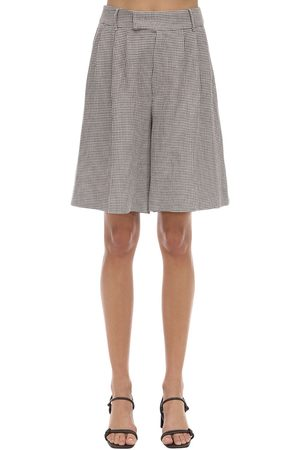 REMAIN Kit Linen Blend Shorts