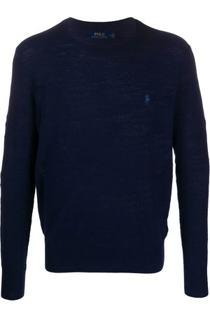 Polo Ralph Lauren Men Sweatshirts - Embroidered logo knitted jumper