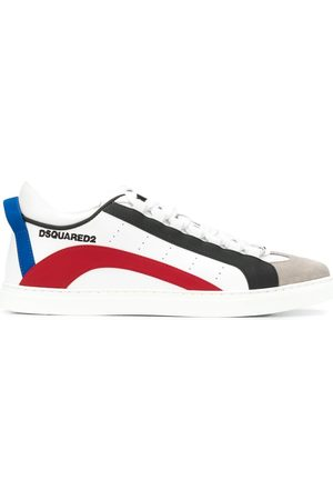 Dsquared2 Panelled leather sneakers