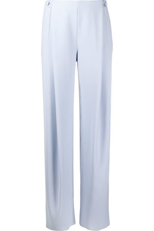 Armani High-waisted wide leg trousers