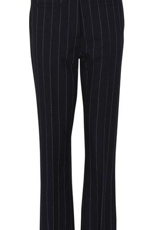 Loewe Women Pants - Fisherman striped trousers