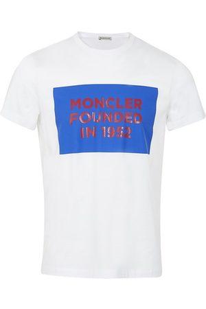 Moncler Men T-shirts - 1952 logo t-shirt