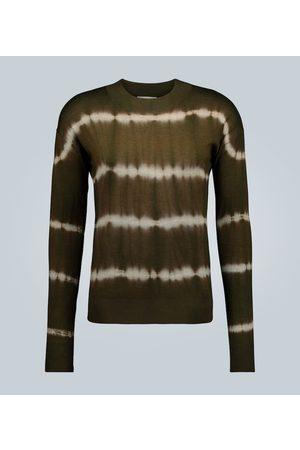 Rochas Crewneck tie-dye sweater