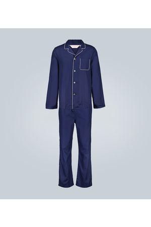 DEREK ROSE Lombard 6 cotton pajama set