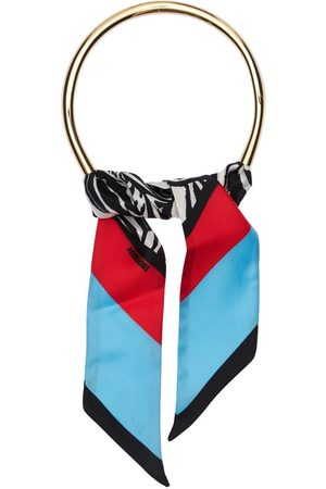 Missoni Women Necklaces - Printed Silk Scarf Choker