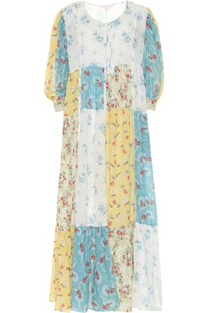LOVESHACKFANCY Bex floral cotton midi dress