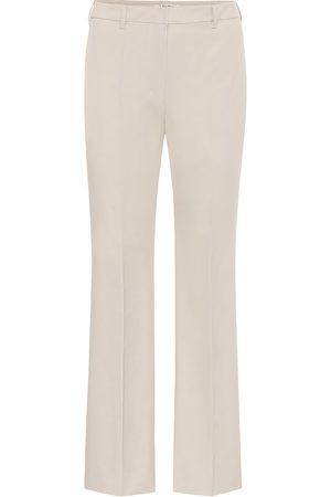 Max Mara Tebano stretch-cotton pants