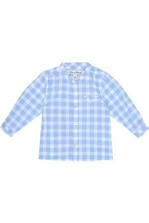Tartine Et Chocolat Baby checked cotton shirt