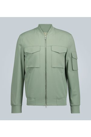 Harris Wharf London Technical bomber jacket