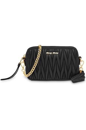 Miu Miu Women Purses - Matelassé bandoleer bag