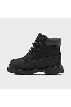 Timberland Kids' Toddler 6 Inch Classic Boots in Size 8.0 Leather