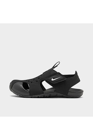 Nike Boys' Little Kids' Sunray Protect 2 Hook-and-Loop Sandals in Size 3.0