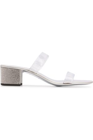 Giuseppe Zanotti Women Sandals - Crystal heel sandals