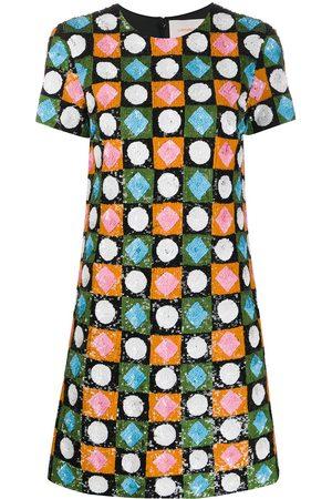 La DoubleJ Swing mini sequin dress