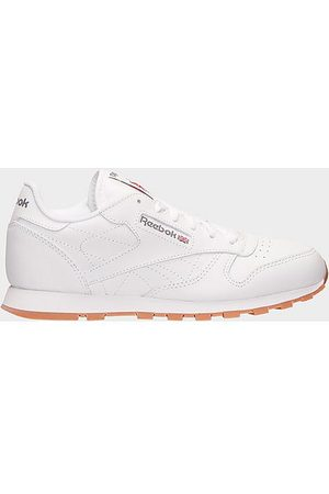 Reebok Big Kids' Classic Leather Casual Shoes in Size 4.5