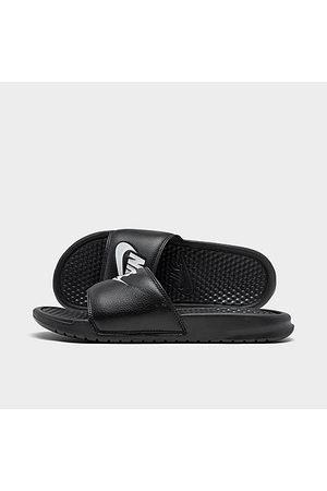 Nike Men's Benassi JDI Slide Sandals in Size 9.0 Leather