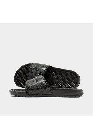 Nike Men's Benassi JDI Slide Sandals in Size 9.0 Leather