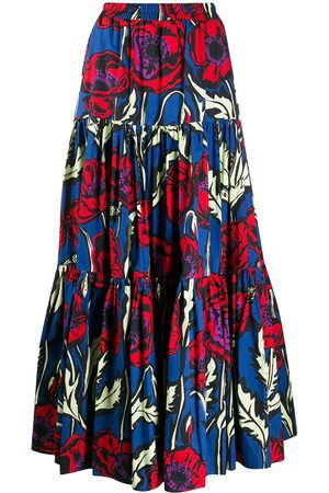La DoubleJ Women Maxi Skirts - Big Blooms Big maxi skirt