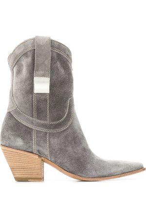 Premiata 70mm cowboy boots - Grey